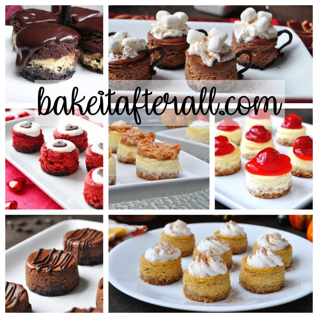 Best Mini Cheesecakes Recipes Collage