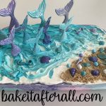 Mermaid Birthday Ice Cream Cake