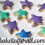Starfish Cookies on a plate