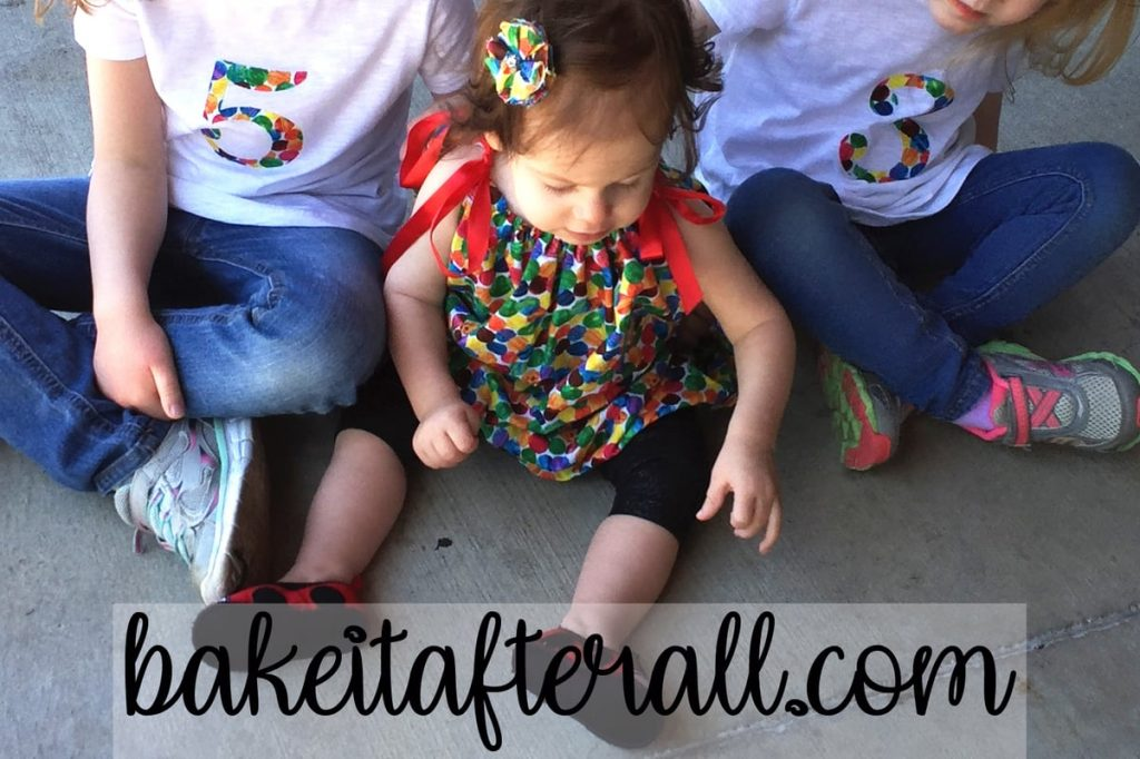 Very Hungry Caterpillar dress and shirts