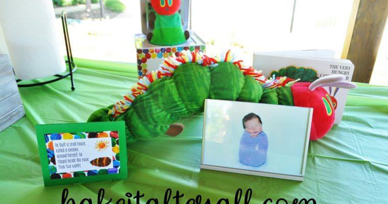Very Hungry Caterpillar Birthday Ideas